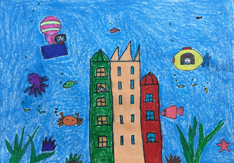 未来的海底世界