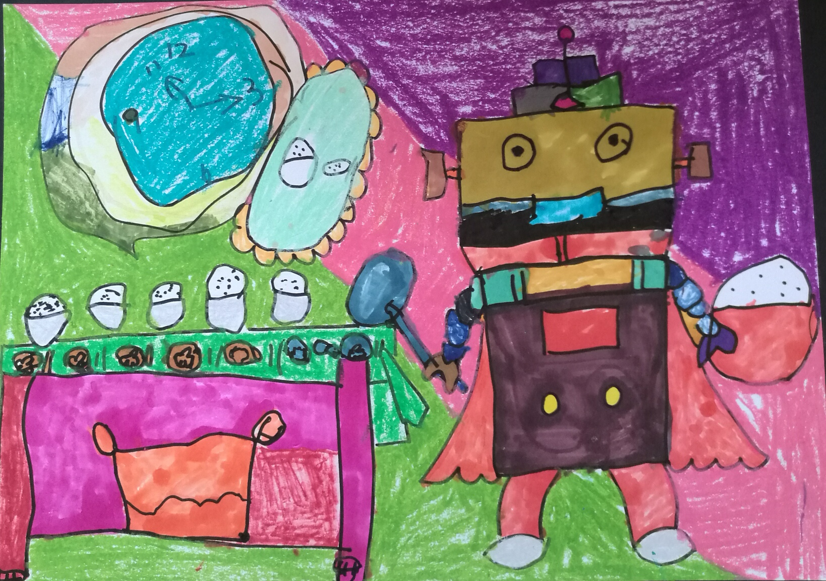 营养分餐机器人