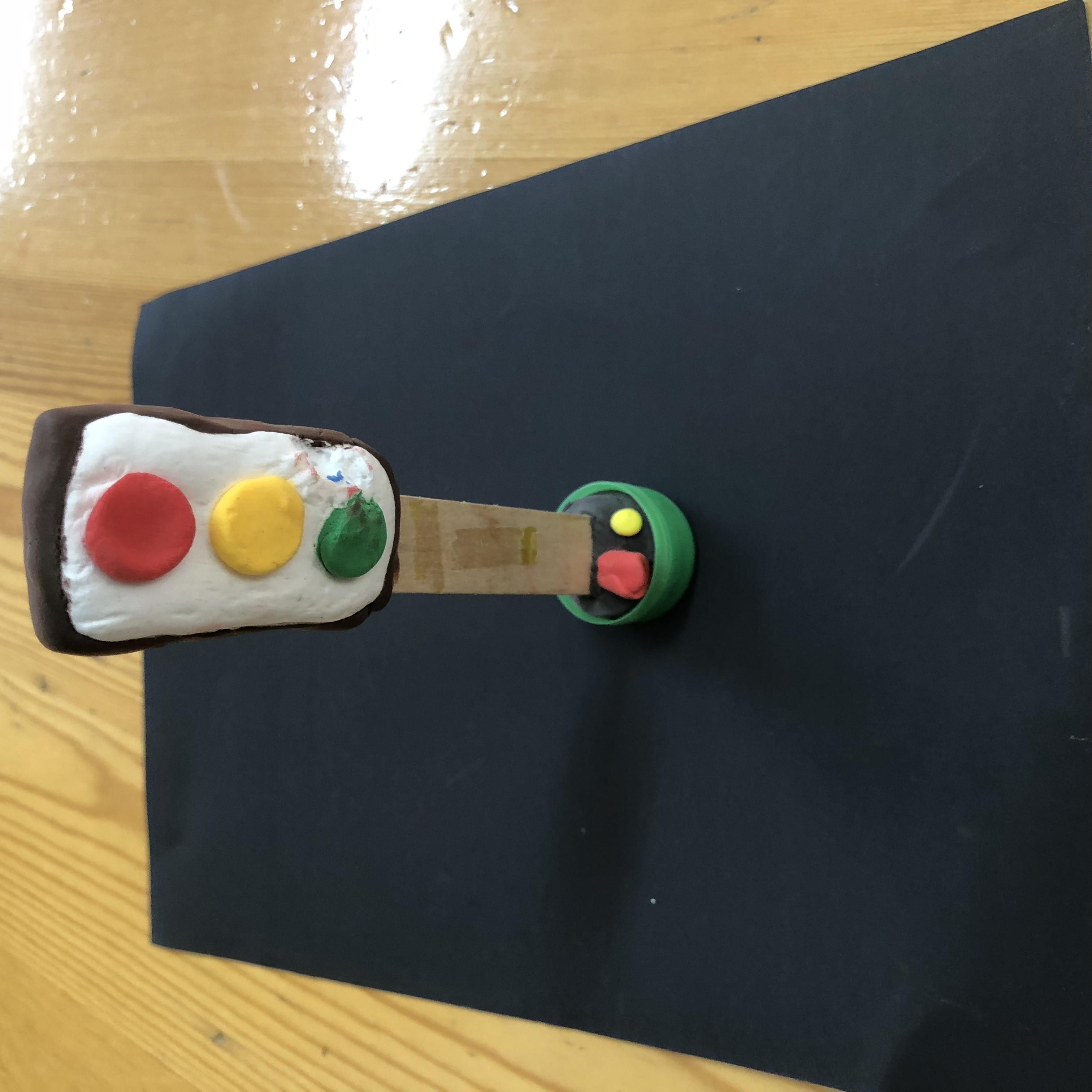 红绿灯提示器