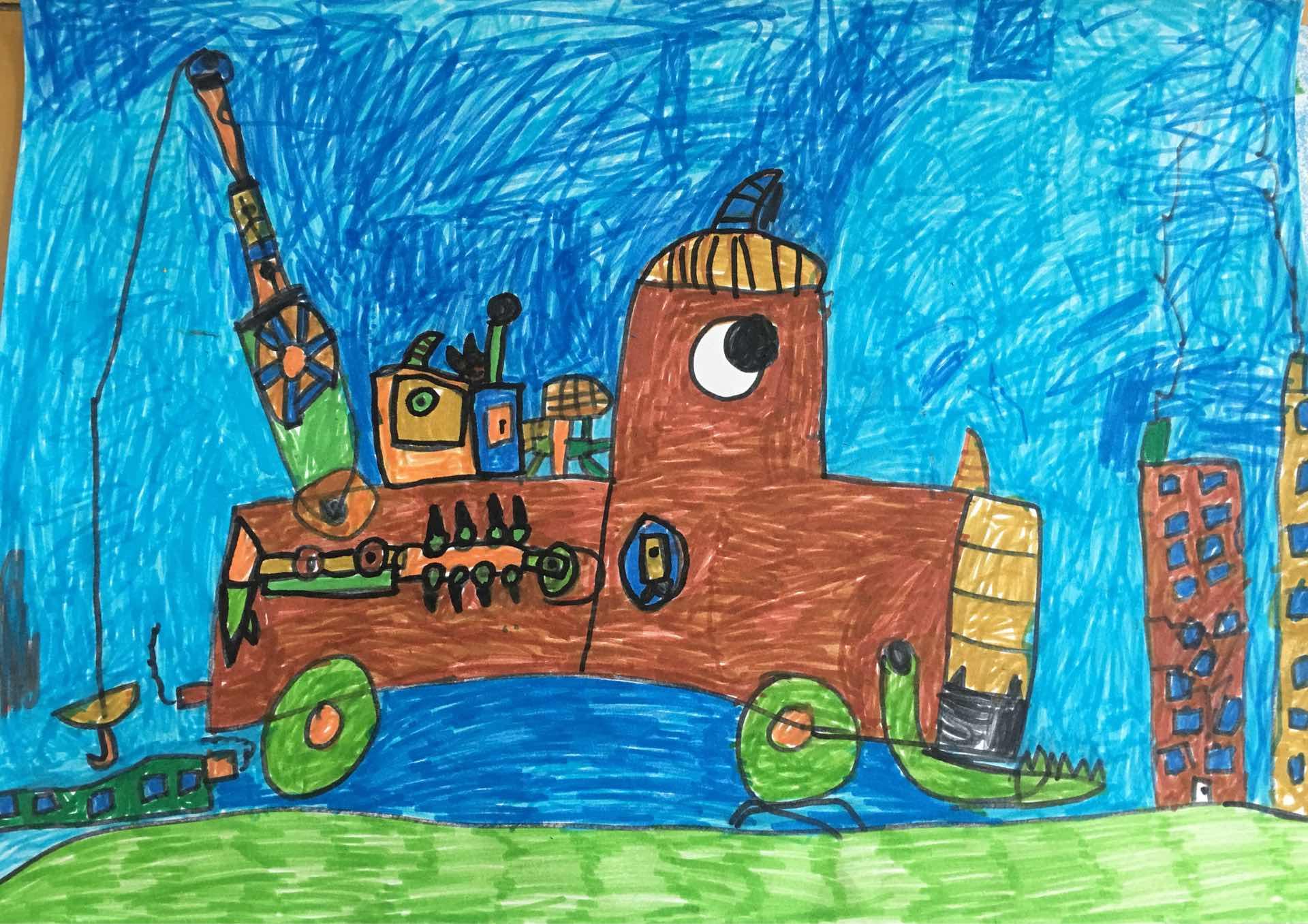 地震救援机器人